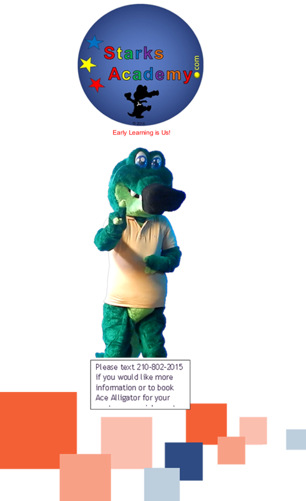 LIVE Ace Alligator Mascot